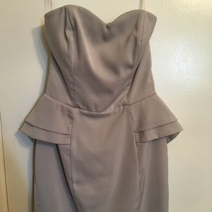 H&M strapless dress - new without tags -never worn